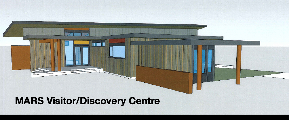 MARS Visitor Discovery Centre Sketch