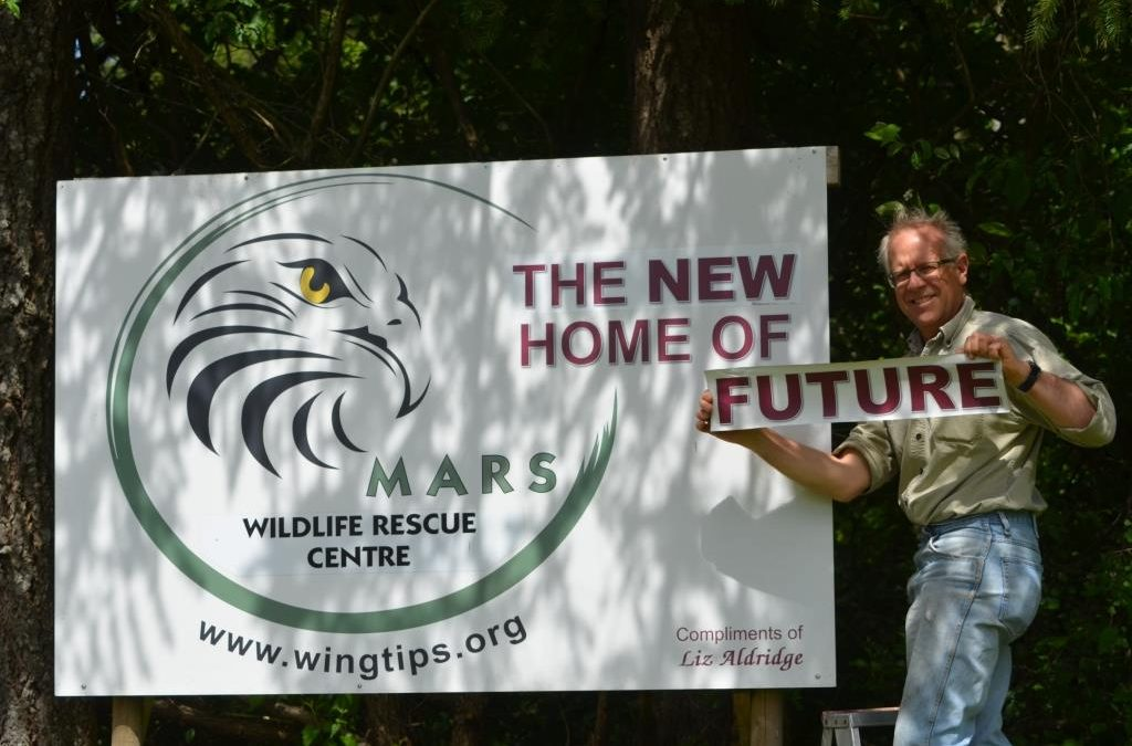 MARS sign coming down 2