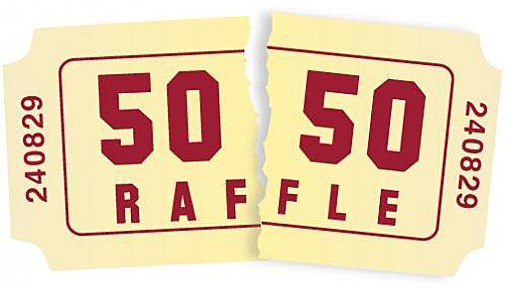 50/50 Tickets On Sale Now