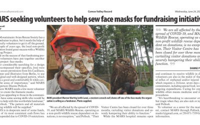 MARS seeking volunteers to help sew face masks for fundraising initiative